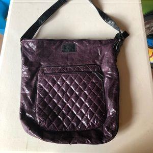 Gently used crossbody purple bag!